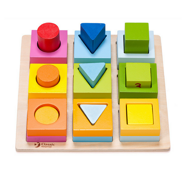 Classic World Geometric Blocks