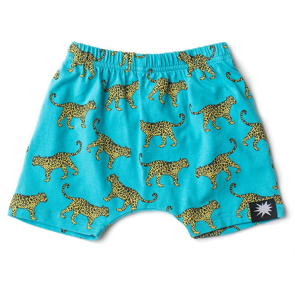 cheetah--harum--shorts-in-multi colour print