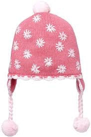 organic-earmuff-flower-dark-pink-in-pink