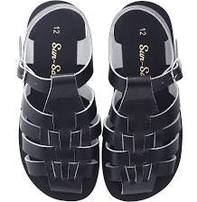 Salt Water Sun San Sailor Sandals - Navy