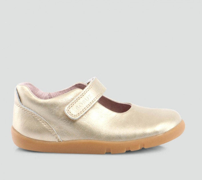 Iwalk Delight  Mary Jane Shoes in gold