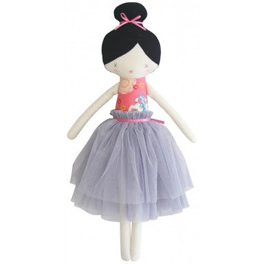amelie-doll--pink-and-grey--52cm-in-multi colour print