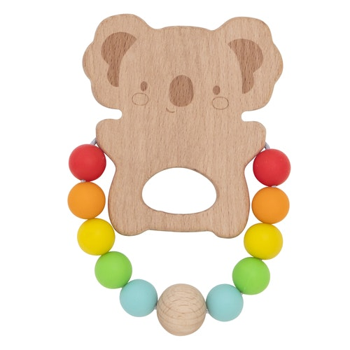 wood-and-silicone-teether-koala-in-multi colour print