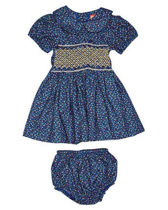 lucy-blue-floral-smock-dress-baby-with-bloomer-in-blue