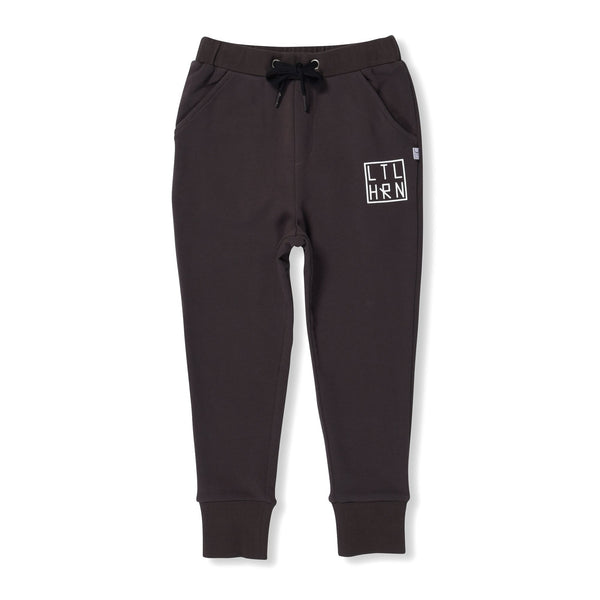 littlehorn-branded-cuff-trackpants---black--in-black