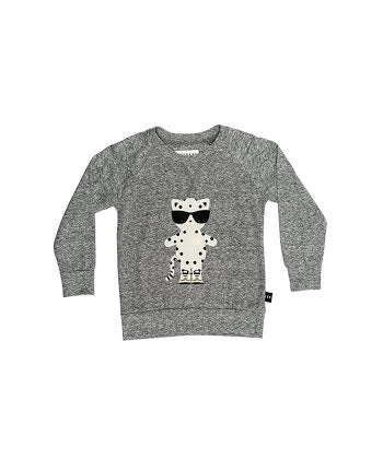 hux-baby-leopard-sweatshirt-charcoal-slub-in-grey