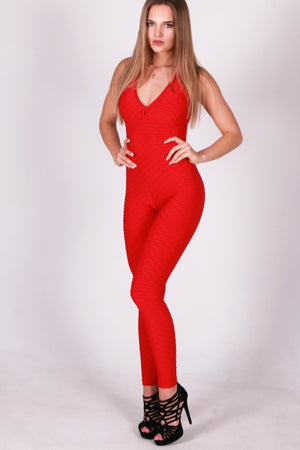 New Model Anti cellulite red Overall