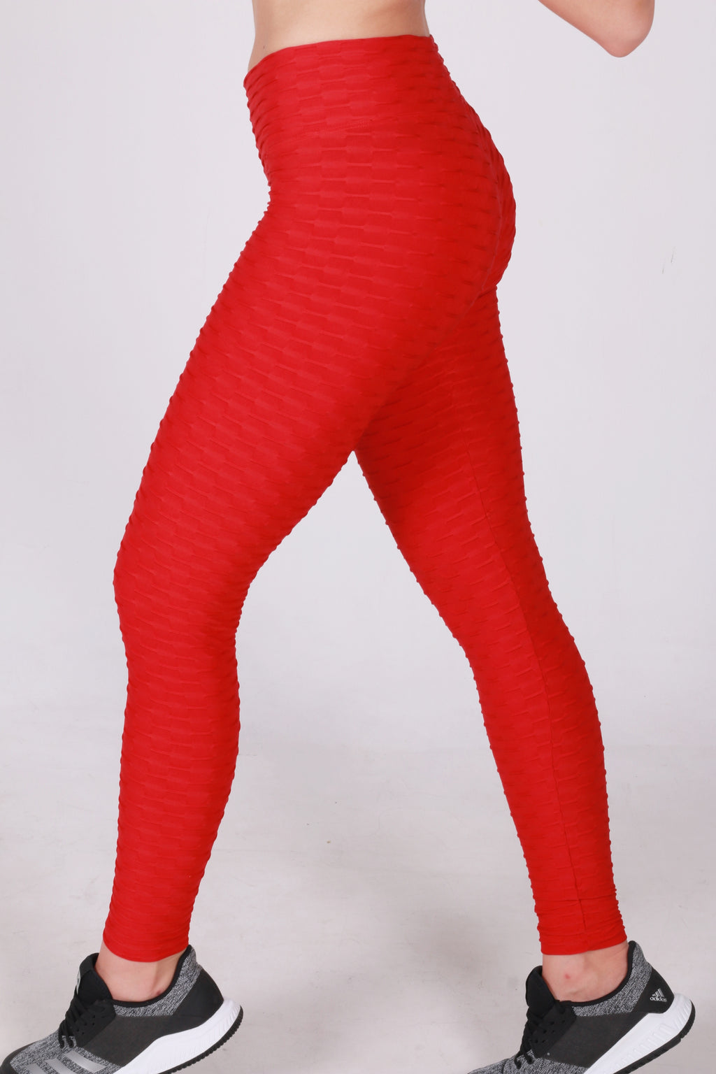 Anti cellulite red legging