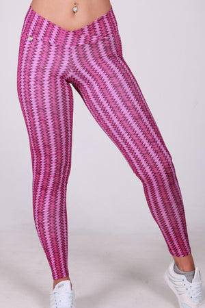 Pink degrade legging