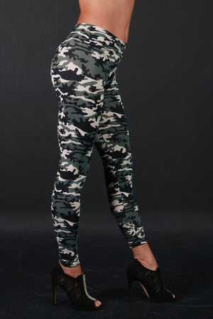 Splendor set Military print - Legging and Top