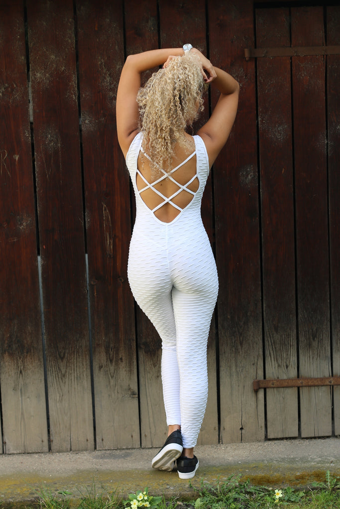 Pyramid White Overall
