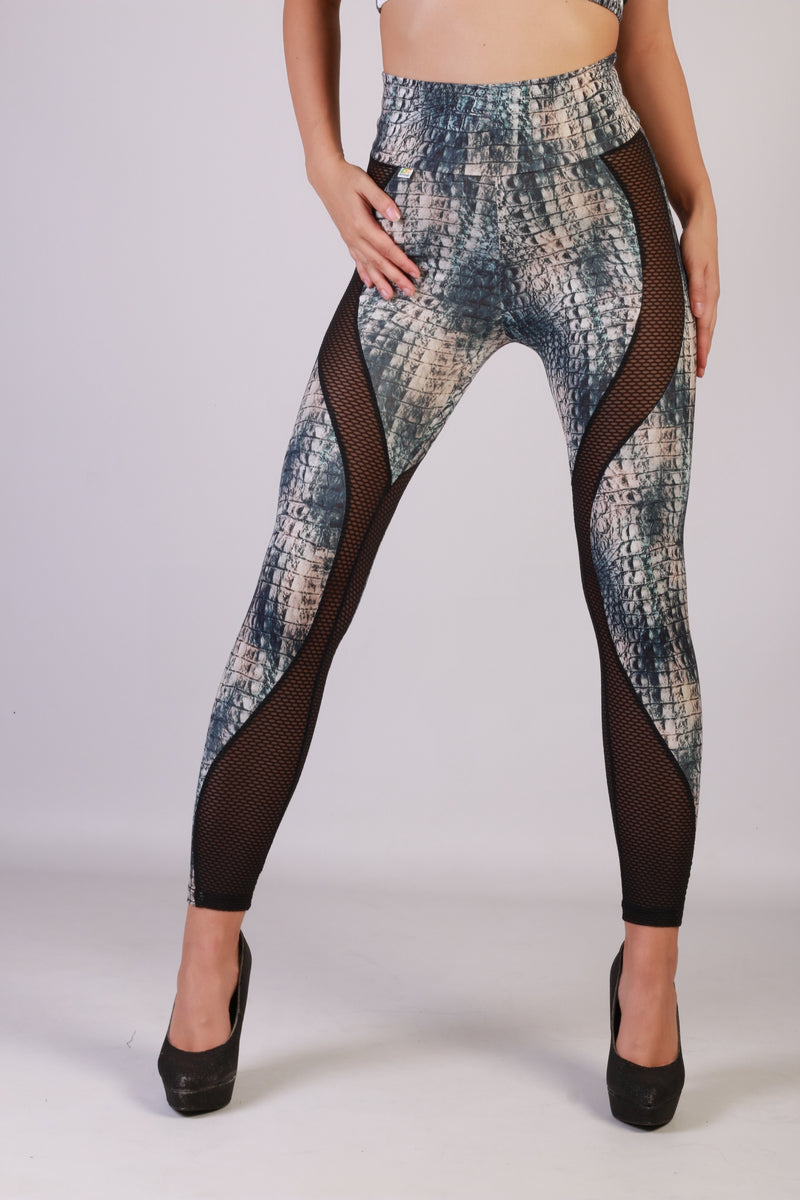 Sexy Divine Legging in amazing snake print