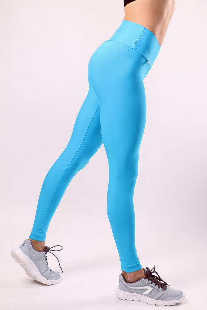 Push-up Leggings - Azure