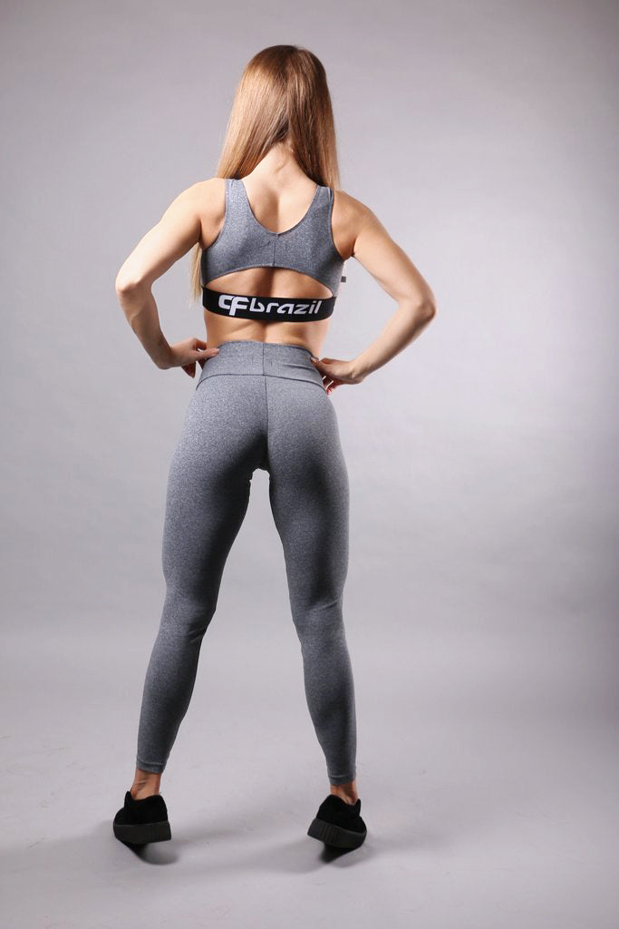 Versatile Leggings in grey color