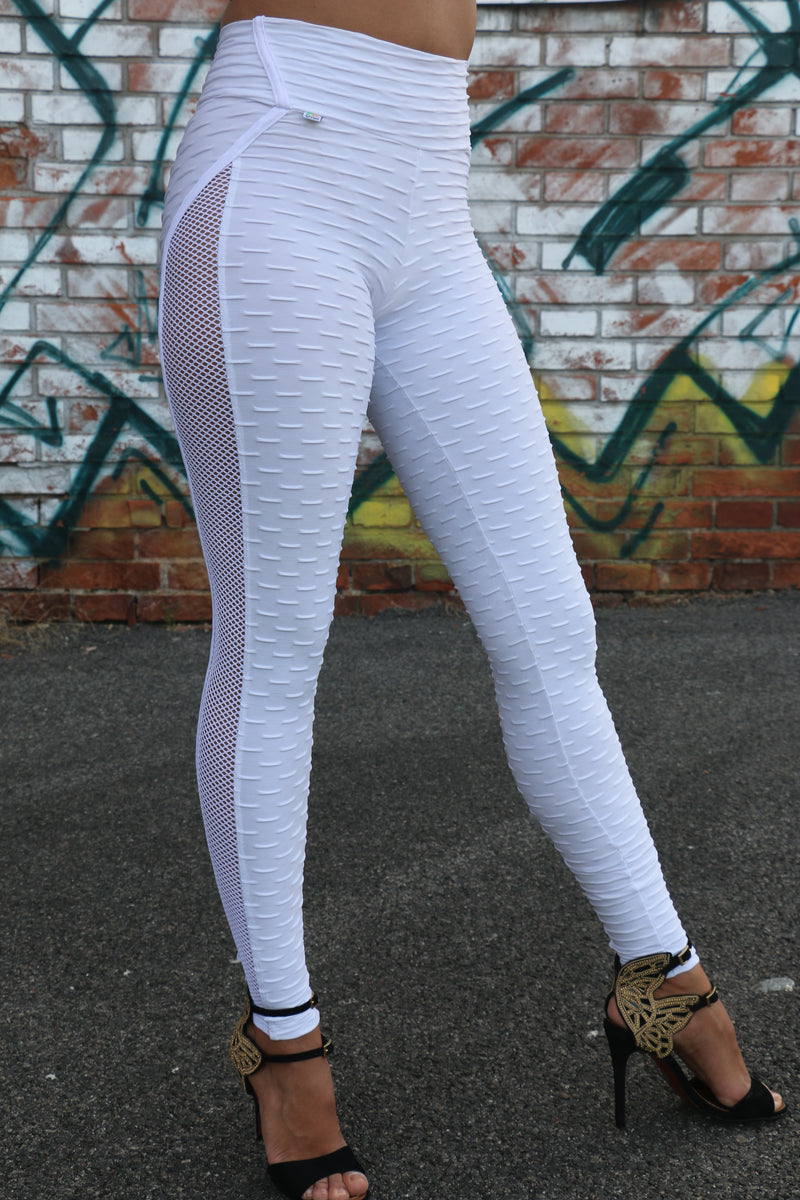 Amazing anti cellulite White legging