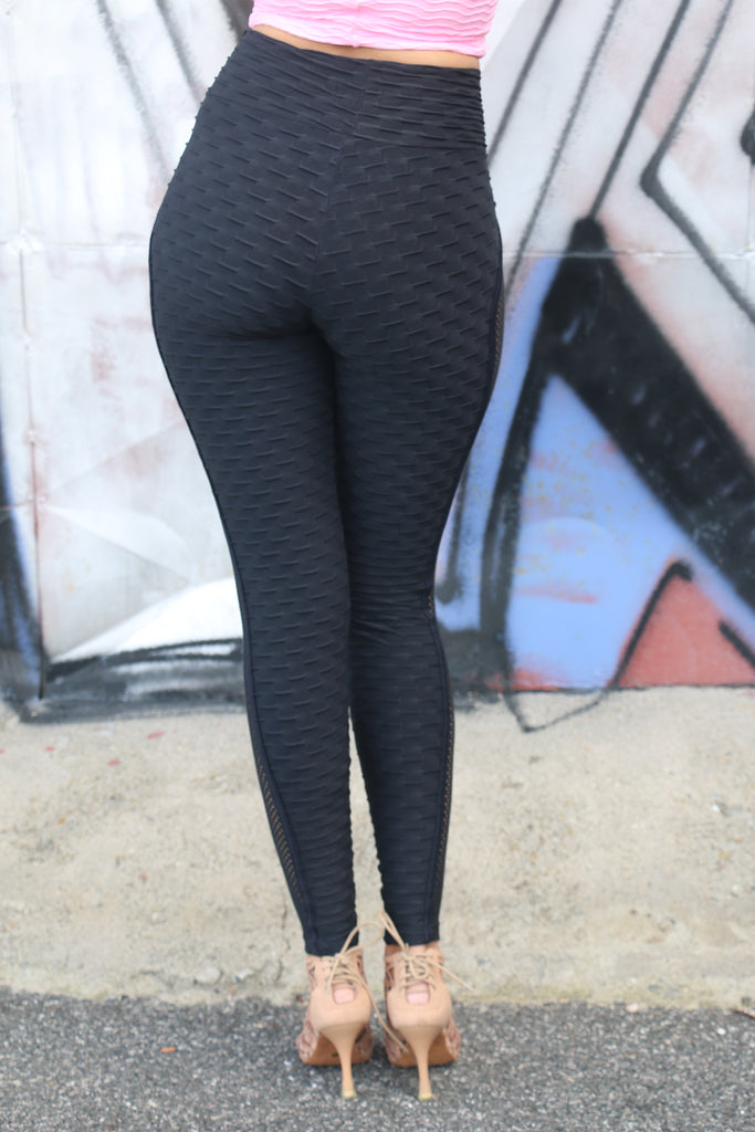 Leggings Sensation anti-cellulite - black