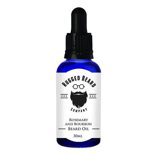 Rosemary and Bourbon Beard Conditioning Oil - Grandad shirt club