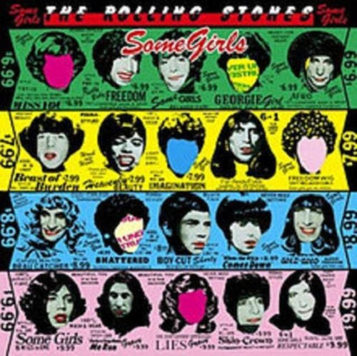 The Rolling Stones - Some Girls - Vinyl LP Record - Grandad shirt club