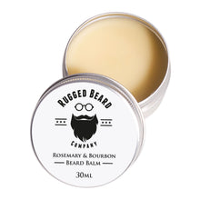 Load image into Gallery viewer, Rosemary and Bourbon Beard Balm - Grandad shirt club