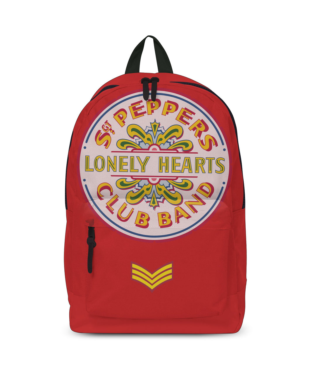 The Beatles - Lonely Hearts Red - Classic Rucksack - Grandad shirt club