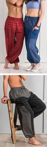 Cotton trousers. Great for chilling and yoga - Grandad shirt club