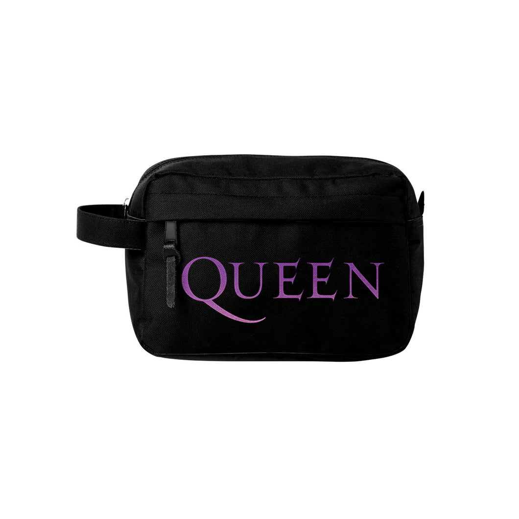 Queen - Wash Bag - Logo - Grandad shirt club