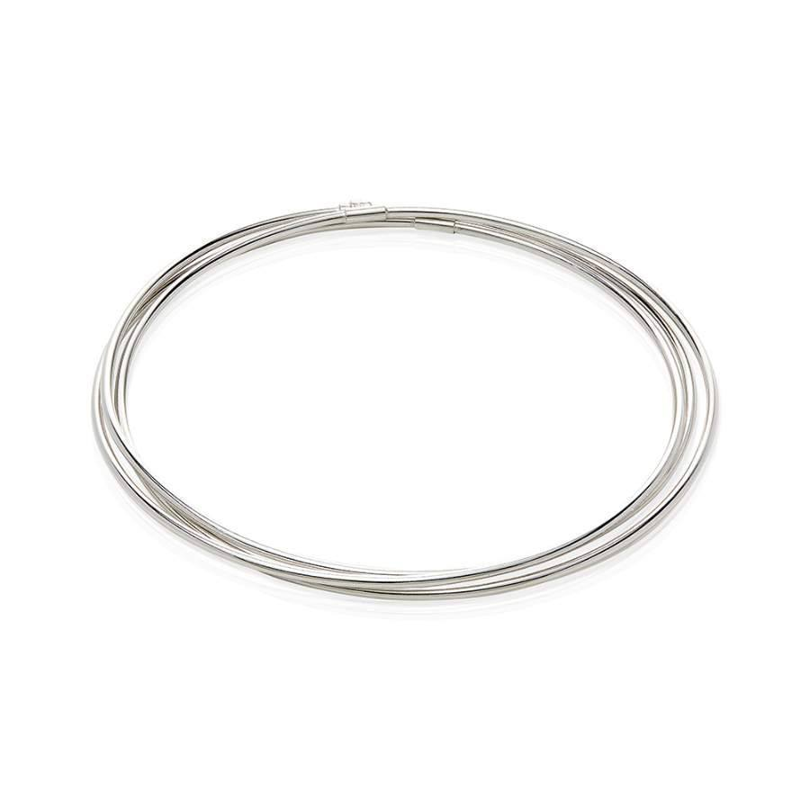 Sterling Silver Bangle - Grandad shirt club
