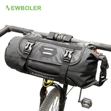 Load image into Gallery viewer, NEWBOLER Bike Front Tube Bag Waterproof Bicycle Handlebar Basket Pack Cycling Front Frame Pannier Bicycle Accessories - Grandad shirt club