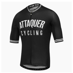 Attaquer cycling jersey men all day racing clothing tops 2020 Best selling apparel MTB sport riding shirt Short sleeve Race Fit - Grandad shirt club