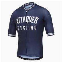 Load image into Gallery viewer, Attaquer cycling jersey men all day racing clothing tops 2020 Best selling apparel MTB sport riding shirt Short sleeve Race Fit - Grandad shirt club