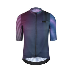 SPEXCEL 2020 last Version flyweight Pro fit Short sleeve cycling jersey Seamless process with waterproof pocket - Grandad shirt club