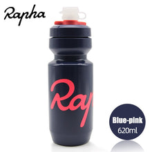 Load image into Gallery viewer, Rapha Cycling Water Bottle 620/750ml Leak-proof Squeezable  Taste-free BPA-free Plastic Camping Hiking Sports Bicycle kettle - Grandad shirt club