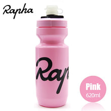 Load image into Gallery viewer, Rapha Cycling Water Bottle 620/750ml Leak-proof Squeezable  Taste-free BPA-free Plastic Camping Hiking Sports Bicycle kettle freeshipping - Grandad shirt club