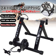 Cargar imagen en el visor de la galería, Free Indoor Exercise Bicycle Trainer 6 Levels Home Bike Trainer MTB Road Bike Cycling Training Roller Bicycle Rack Holder Stand - Grandad shirt club