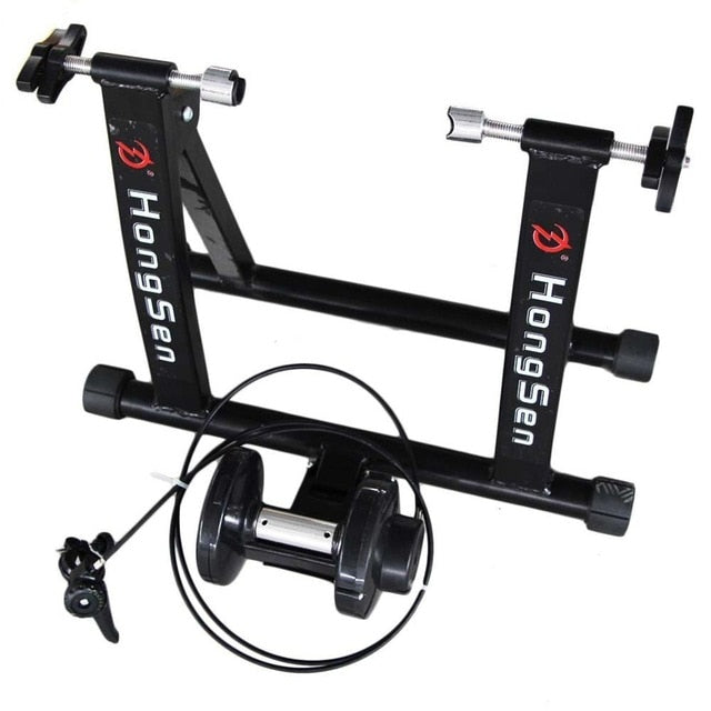 Free Indoor Exercise Bicycle Trainer 6 Levels Home Bike Trainer MTB Road Bike Cycling Training Roller Bicycle Rack Holder Stand - Grandad shirt club