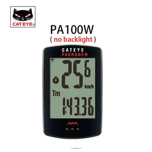 CATEYE Bike Bicycle Computer Wireless Cycling Computer Backlight Waterproof Speedometer Speed Sensor Stopwatch Digital Computer - Grandad shirt club
