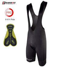 Cargar imagen en el visor de la galería, Darevie Cycling Bib Shorts Men 3D Pad Shockproof Cycling Bib Shorts Pro Korea Lycra Breathable Cool 6 Hours Ride Bike Bib Shorts - Grandad shirt club