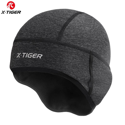 X-TIGER Winter Cycling Cap Windproof Thermal Ski Cap Running Skiing Motocycle Riding Hat Men Women MTB Bike Cycling Headwear freeshipping - Grandad shirt club