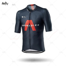 Load image into Gallery viewer, 2020 INEOS Grenadier PRO TEAM Men's Cycling Jersey Short Sleeve Bicycle Clothing With Bib Shorts Ropa Ciclismo MTB Wear Maillot - Grandad shirt club