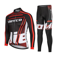 Load image into Gallery viewer, Men Long Sleeves Cycling clothing Jersey Set Cycling Maillot Sport Uniform MTB Bicycle Clothes Tight Jacket Men Cycle Clothes - Grandad shirt club