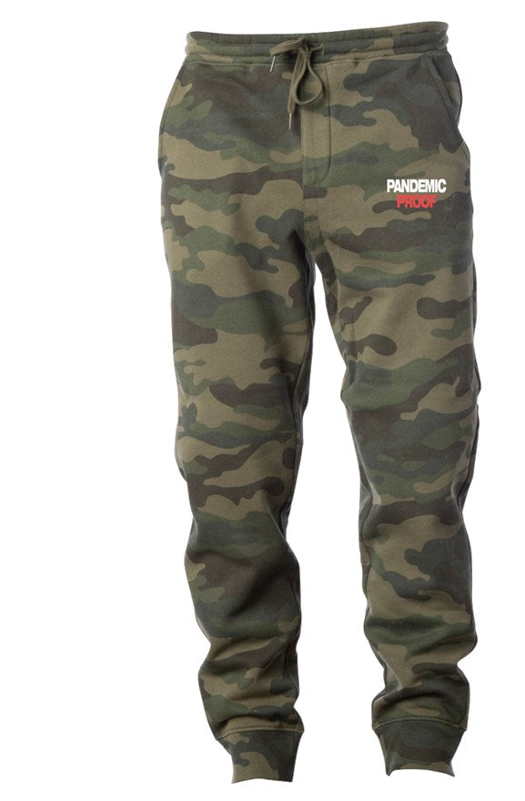Pandemic Proof Camo Joggers