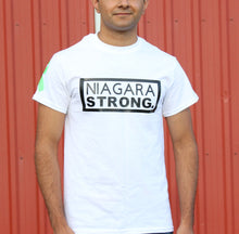 Load image into Gallery viewer, Niagara Strong T-Shirt (White)