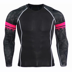 Crossfit Clothing Men Compression Tights Shirts Fitness