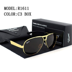 Fashion Brands polarized sunglasses Men Business Classic