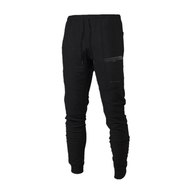New Clothing Man Pants Casual Skinny Trousers