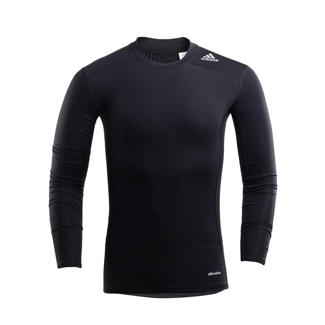 ADIDAS Original Mens Breathable training Running T-shirt Slim Breathable Quick Dry Support Sports For Man - ar-sho.com