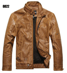 ZOEQO New arrive brand motorcycle leather jacket men - ar-sho.com