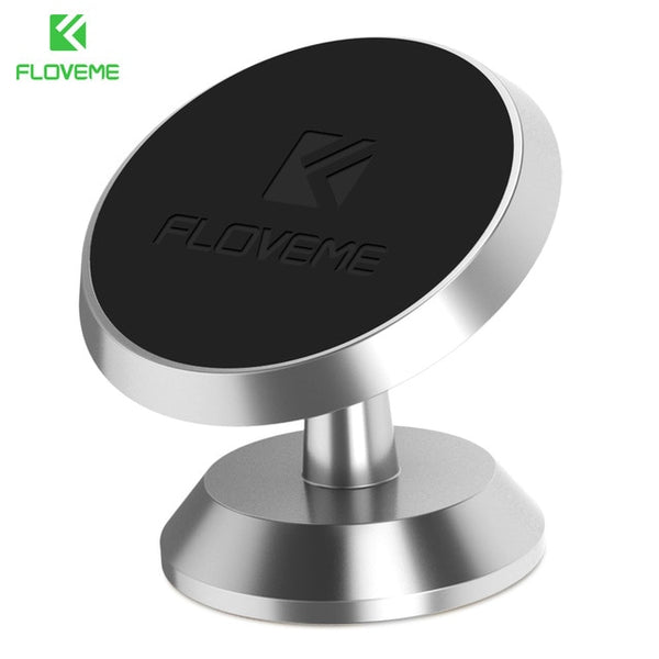 FLOVEME Universal Car Holder 360 Degree Magnetic Car Phone Holder GPS - ar-sho.com