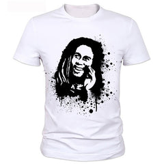 Factory direct sale 2018 hot sale t shirt BOB marley - ar-sho.com