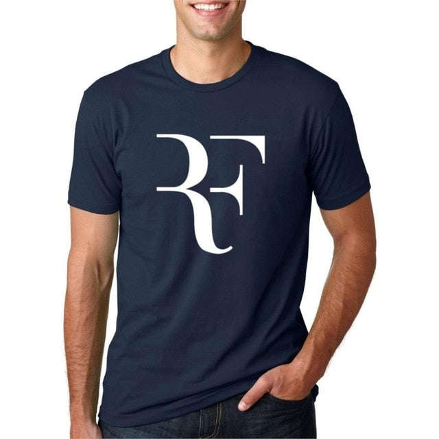 2018 new summer Roger Federer men t shirt RF - ar-sho.com